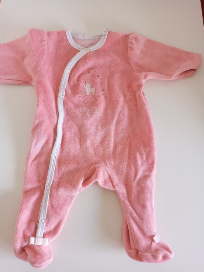 Lot pyjamas 1 mois