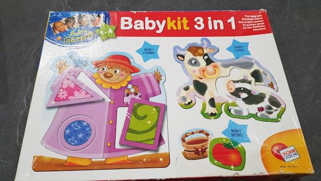 Puzzle Baby kit 3 en 1