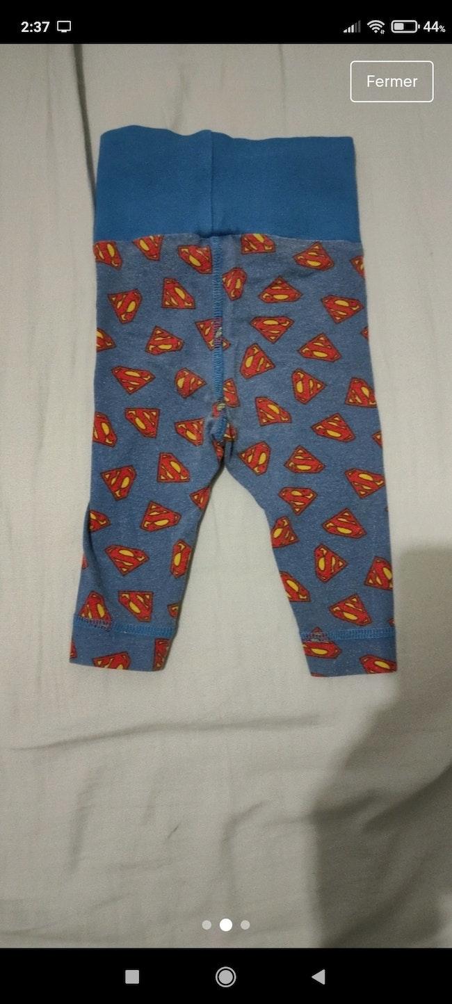Legging superman 3 mois