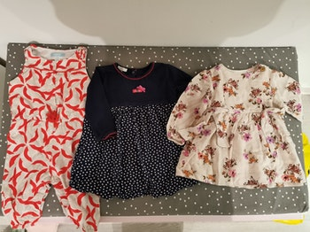 Lot fille 9-12 mois H&M, and Zara, and Absorba etc. 74-80 cm