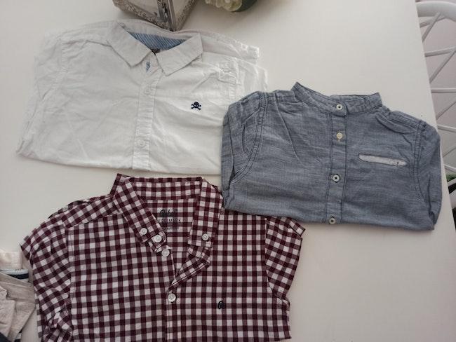 Lot de 3 chemises