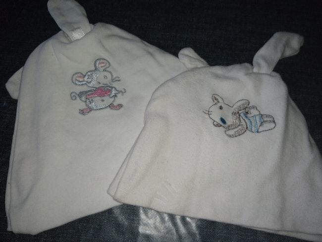 Bonnet jumeaux