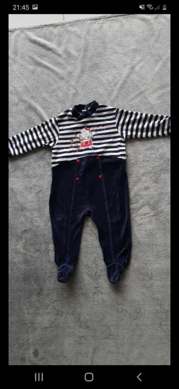 Pyjama style marin, 18 mois