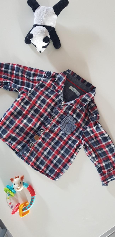 Chemise à carreaux Obaibi