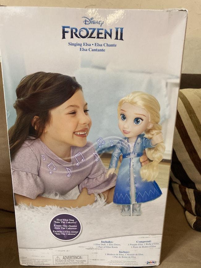 Elsa chantante