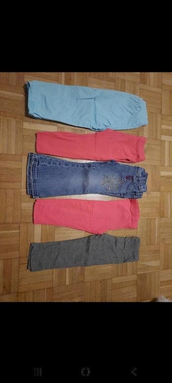 Lot pantalon