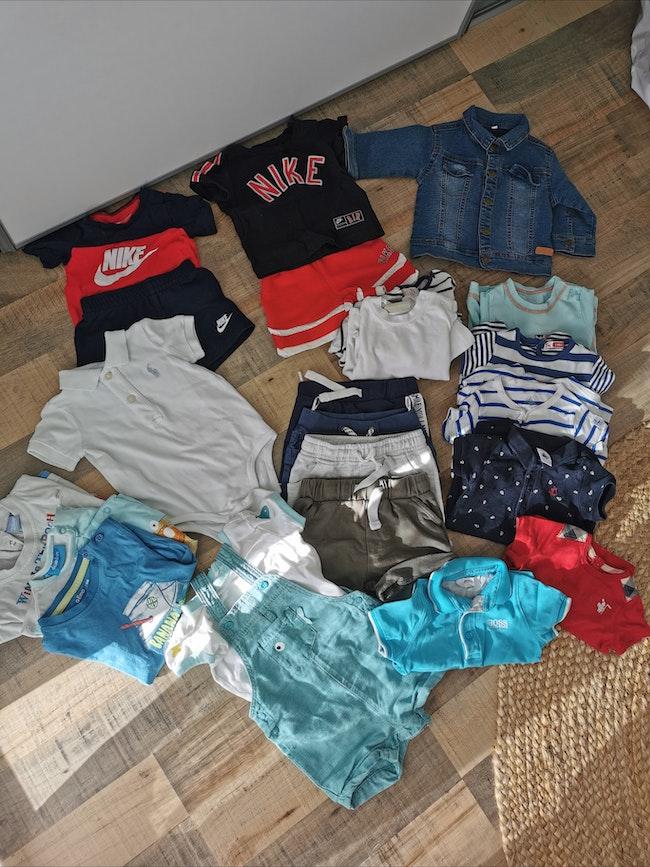 Lot vêtements 6 mois bébé garçon très bon état