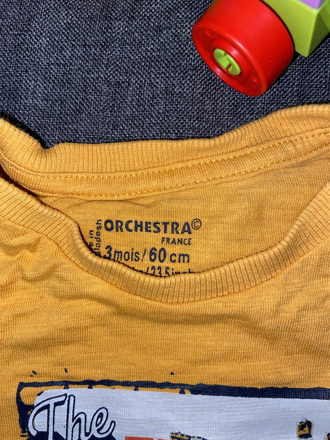 T shirt manches longues orchestra