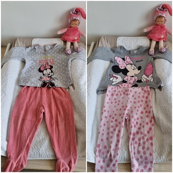 Lot de 2 pyjamas minnie 18 mois