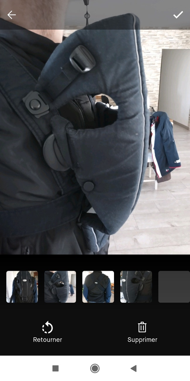 Porte bébé babybjorn noir
