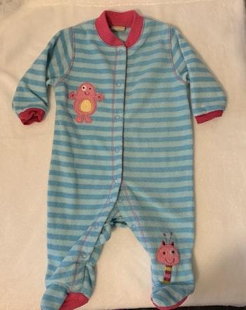 Pyjama grenouillère polaire