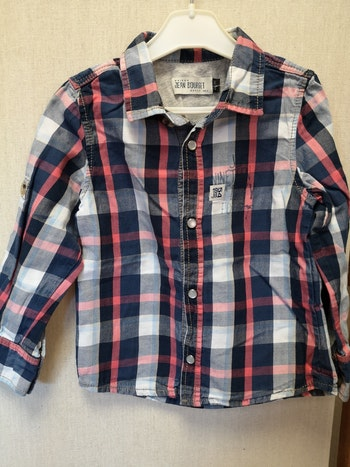 Chemise jean bourget 2 ans