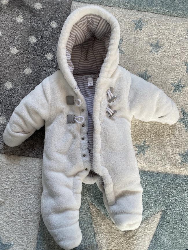 Combinaison pilote bébé 1-3 mois