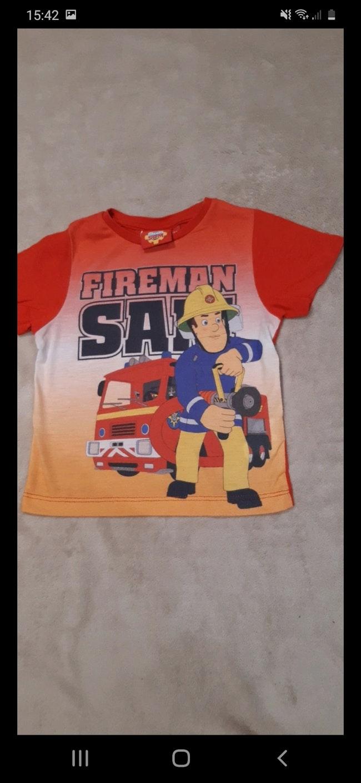 """Tee-shirt """"sam le pompier"""" 3 ans"""
