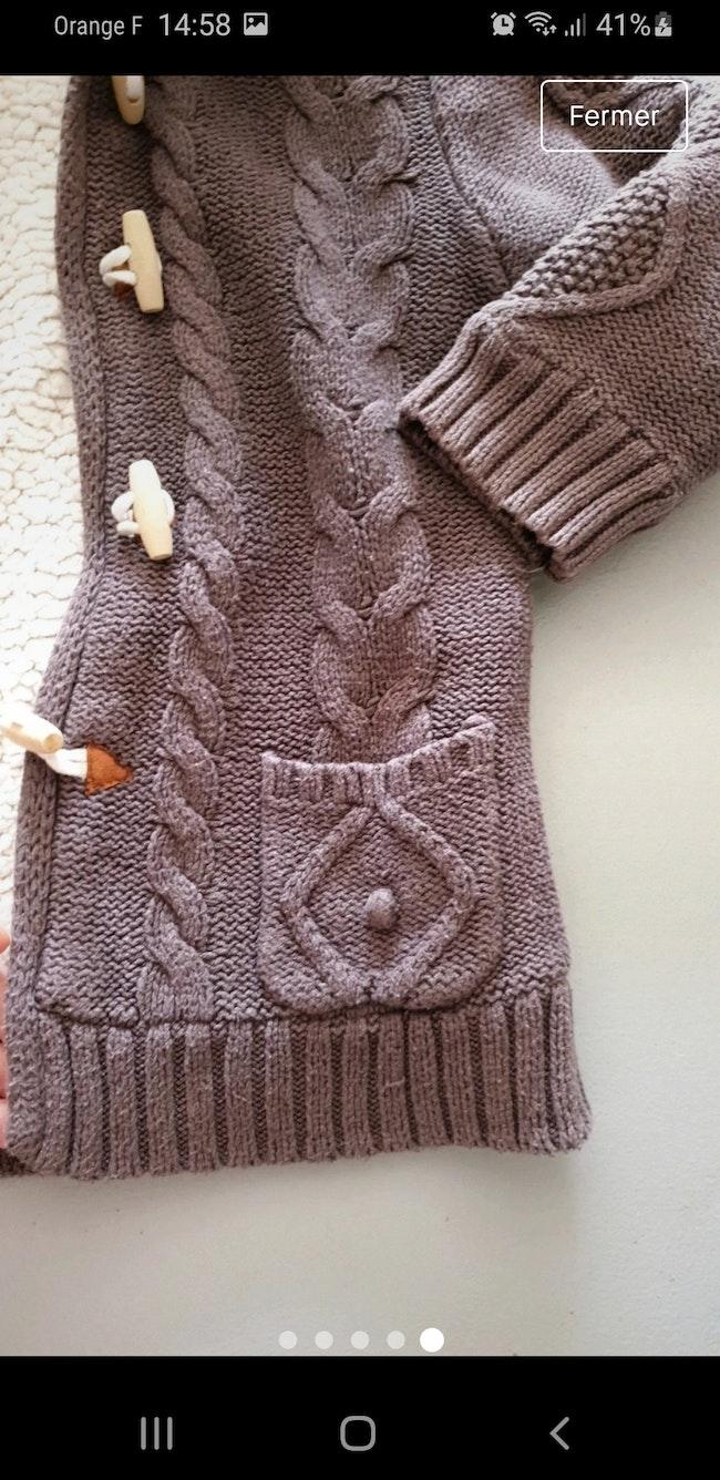 Manteau chaud rembourré