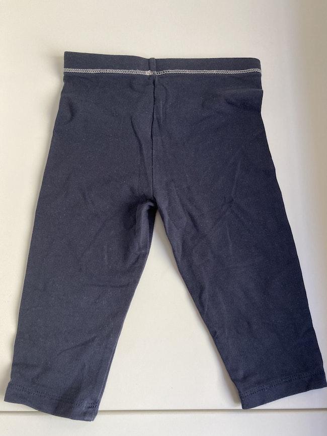 Legging bleu Monoprix
