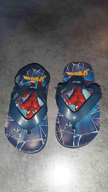Claquettes spiderman 24