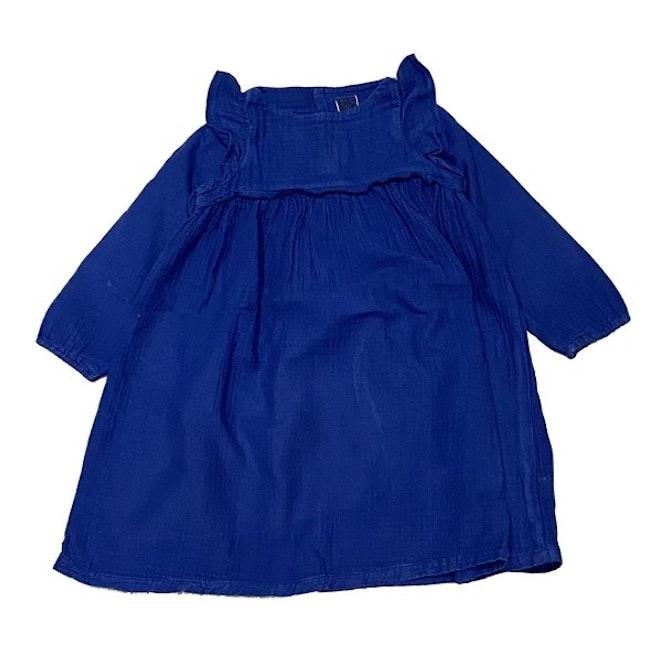 Robe bleu 4 ans