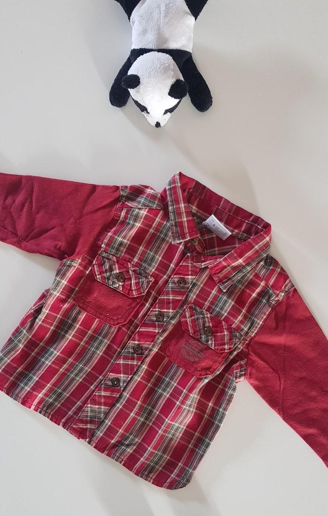Chemise à carreaux 6m