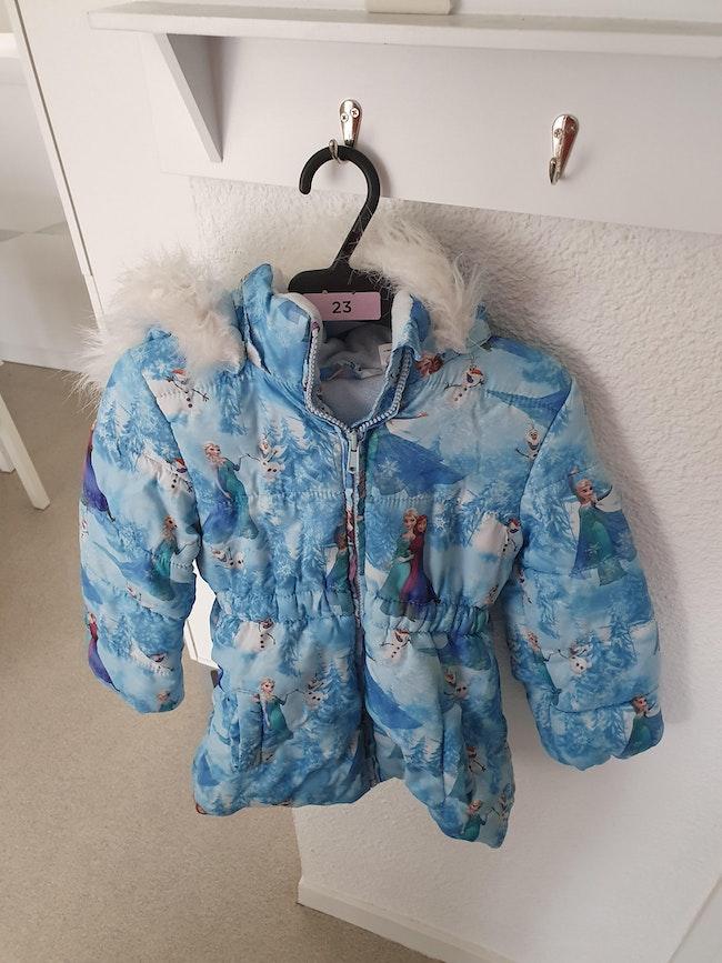 Manteau la reine des neiges 3/4ans