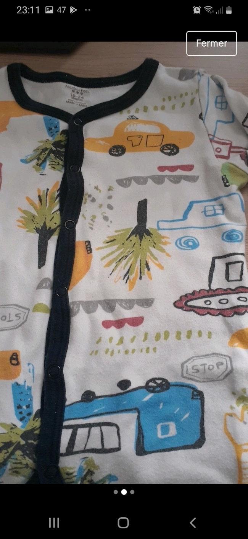 Pyjama sans pieds 18/24 mois