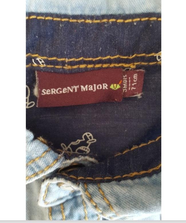 Chemise 9 mois Sergent Major