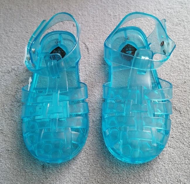 Sandales plastique grain de blé
