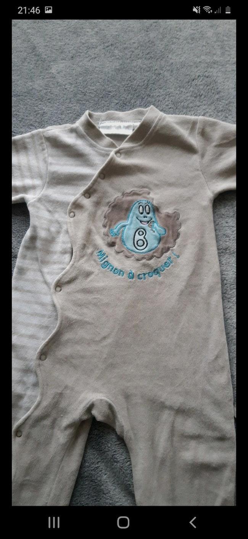 Pyjama barbapapa 18 mois