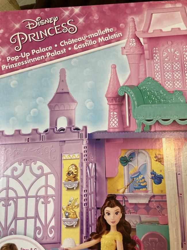 Château de princesse Disney