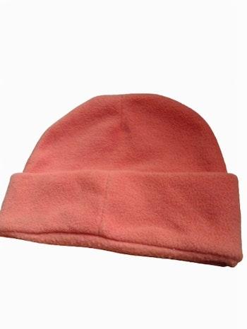 Bonnet hiver chaud mixte orange taille unique