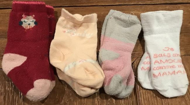 14 paires de chaussettes
