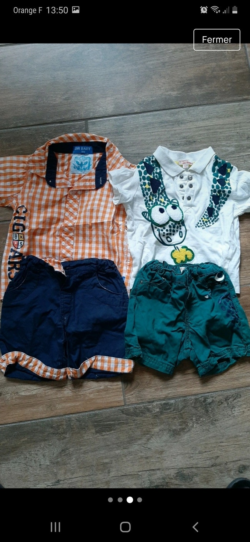 Lot vêtements garçon