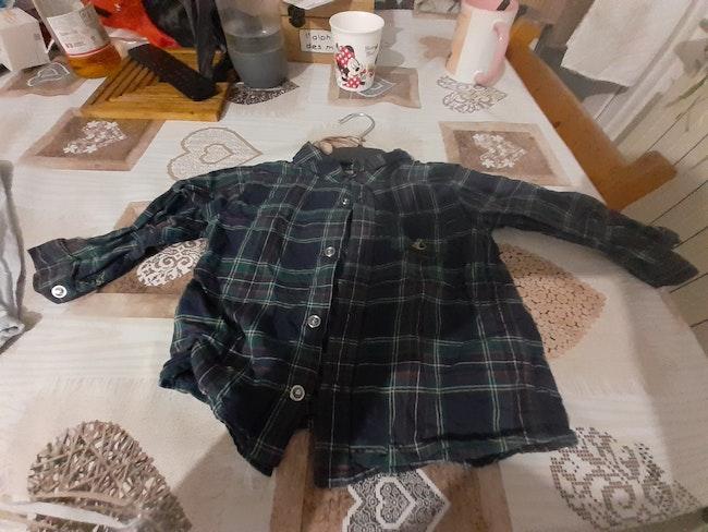 Lot de chemises en 18 mois