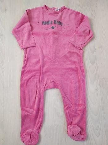 Pyjama kitchoun rose 24m