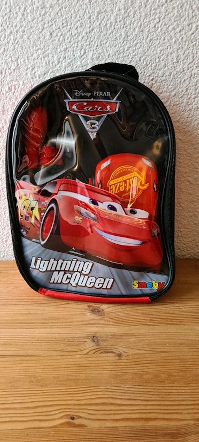 sac à dos avec voiture a construire cars Disney