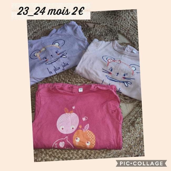 Lot de pyjamas 23-24 mois
