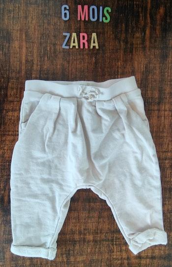 Pantalon crème 6mois