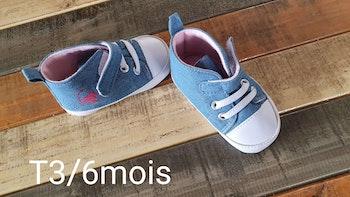 Chaussures en jean 3,6mois