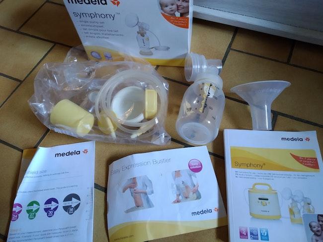 Set simple pour tire lait medela