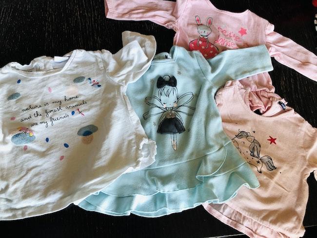 Lot tee-shirts manches longues
