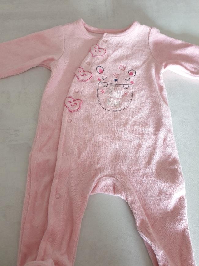 Pyjamas bébé fille 3 mois