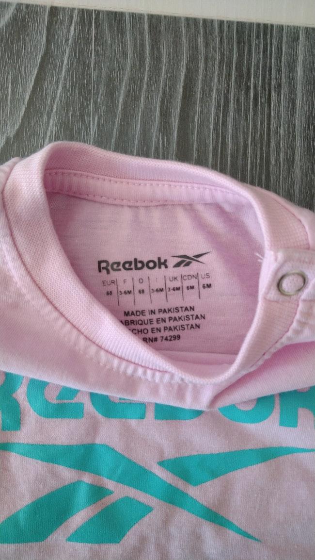T-shirt Reebok 6 mois