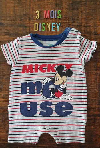 Combinaison Mickey 3mois