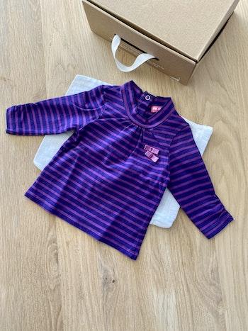 Jolie 🥰 sous pull ML violet T9mois pikouik