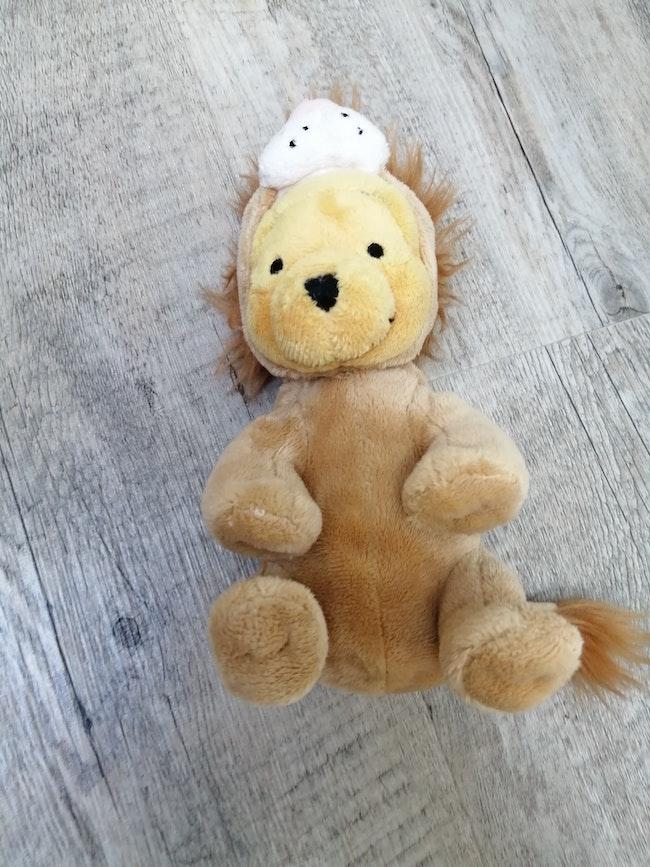Winnie l'ourson lion