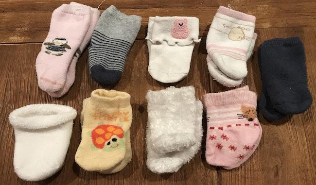 9 paires de chaussettes
