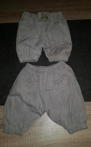 2 pantalons