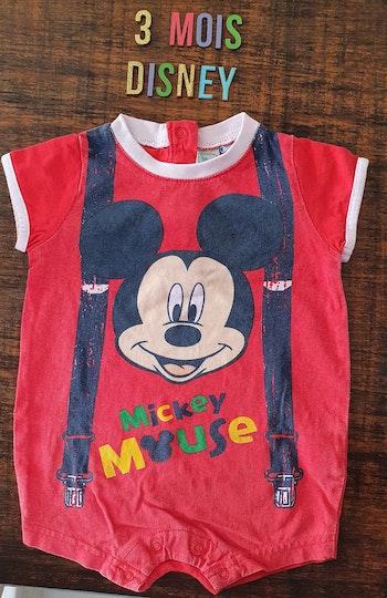 Combinaisons Mickey 3mois
