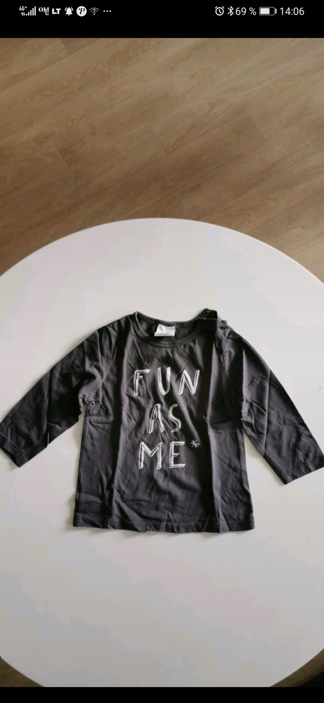 Tee-shirt manche longue taille 24 Mois