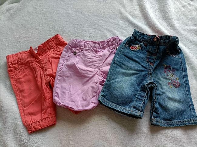 Lot pantalon 1 mois